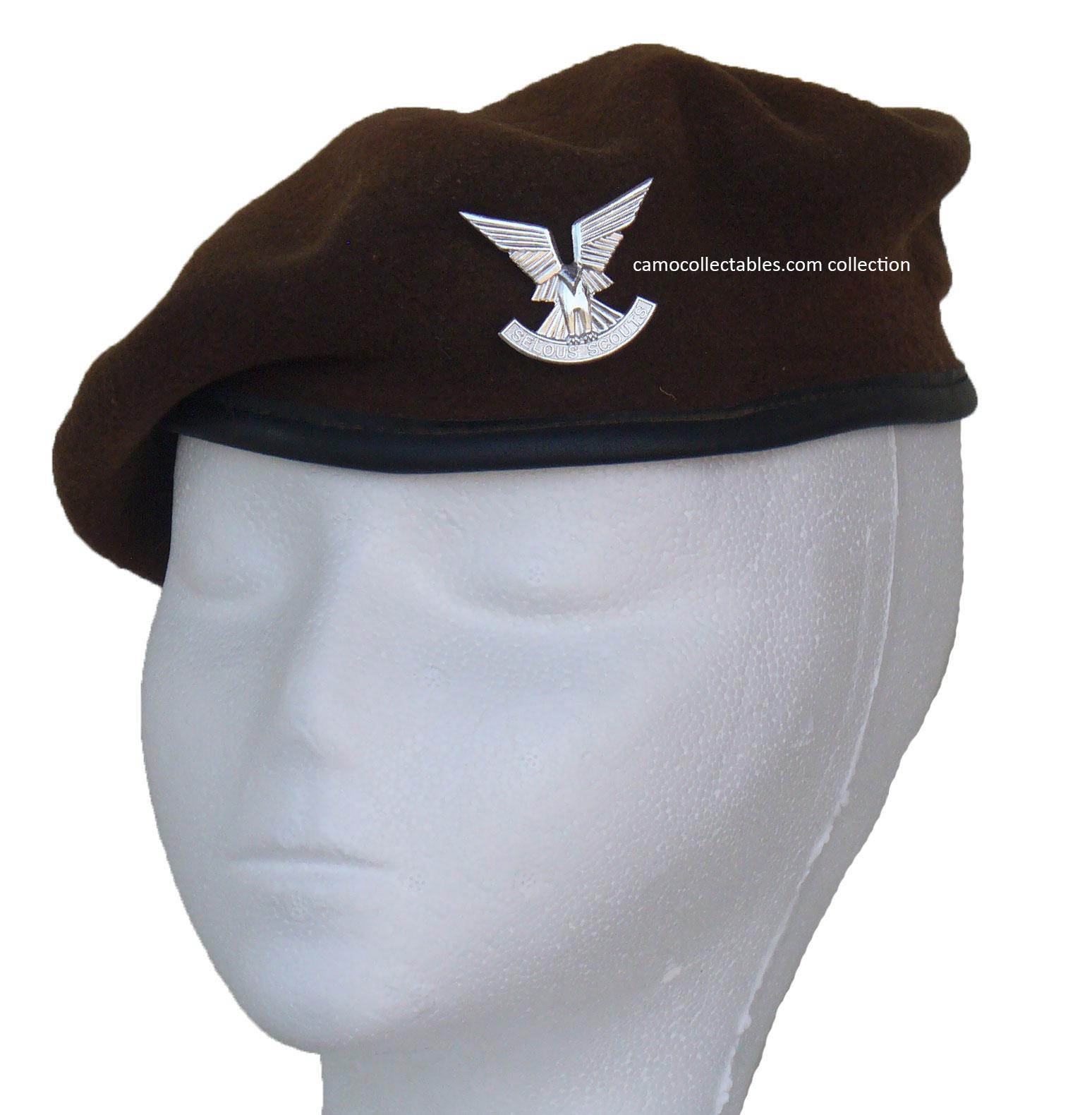 Camo Collectables. Rhodesian Selous Scouts Beret